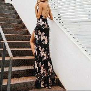 bec2e142cad April s Boutique Dresses - 🌹2XHP🌹Sexy Sequin Backless High Split Maxi  Dress